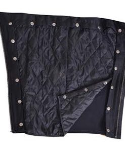 Unisex leather chaps